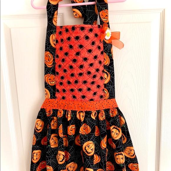 Halloween Apron Spider Apron Halloween Costume